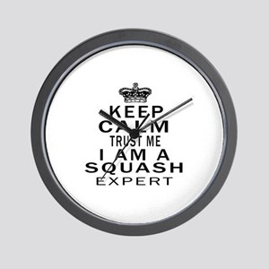 Squash Expert Designs Wall Clock