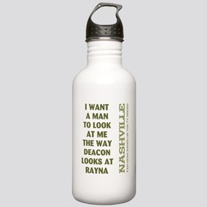 I WANT A MAN... Water Bottle