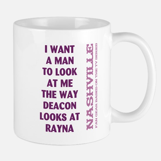 I WANT A MAN... Mugs