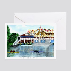 """The Regatta"" Greeting Cards (Pk of 10)"