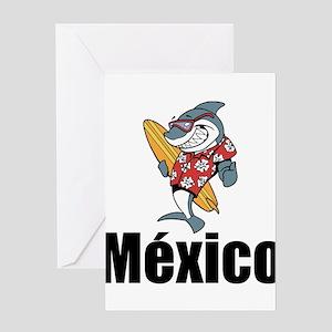 México Greeting Cards