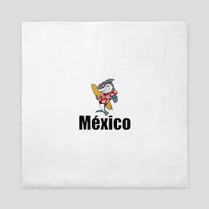 México Queen Duvet