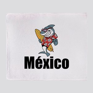 México Throw Blanket