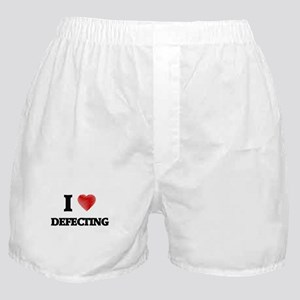 I love Defecting Boxer Shorts