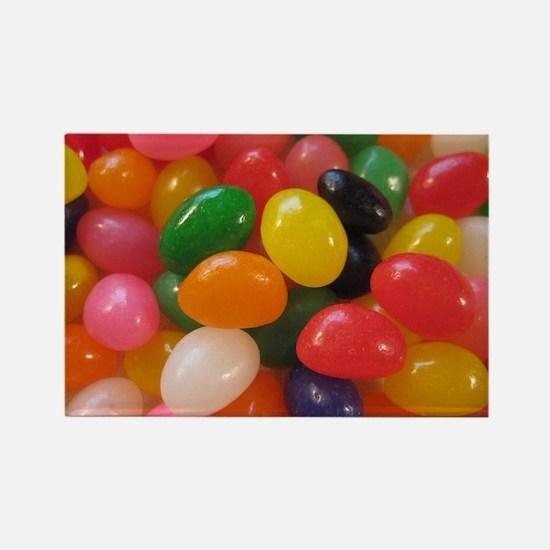 Cute Jellybean Rectangle Magnet
