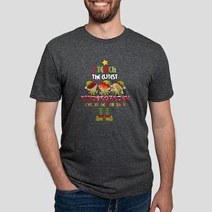 Elves Kindergarten Teacher Mens Tri-blend T-Shirt