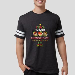 Elves Kindergarten Teacher Mens Football Shirt