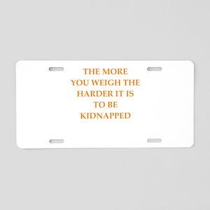 weight Aluminum License Plate