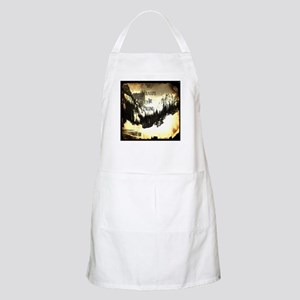 vintage mountains are calling Apron
