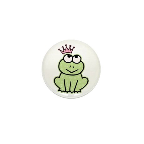 Frog Princess Mini Button (10 pack)