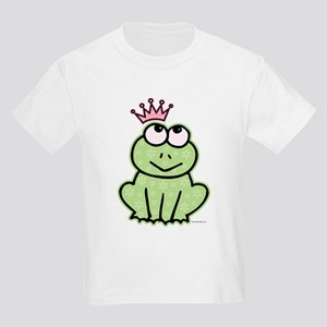 Frog Princess Kids Light T-Shirt