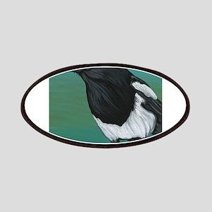 Magpie Crow Bird Wildlife Patch