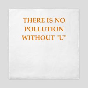 pollution Queen Duvet