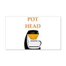 pot head Wall Decal