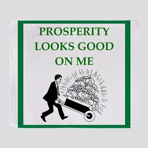 prosperity Throw Blanket