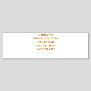 neutrino Bumper Sticker