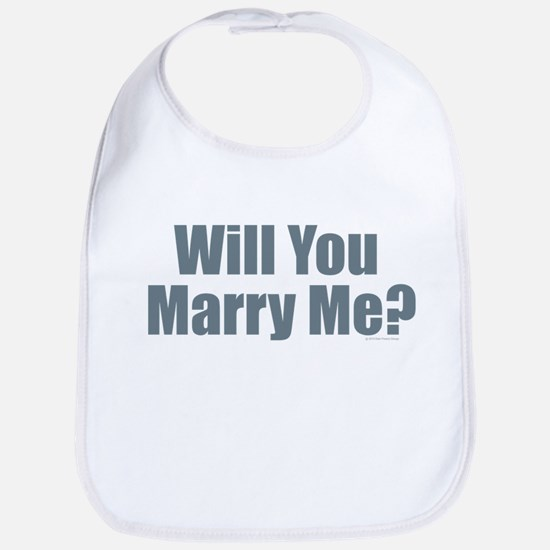 Will You Marry Me Bib