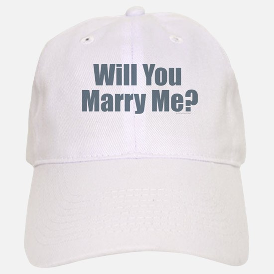 Will You Marry Me Baseball Baseball Cap