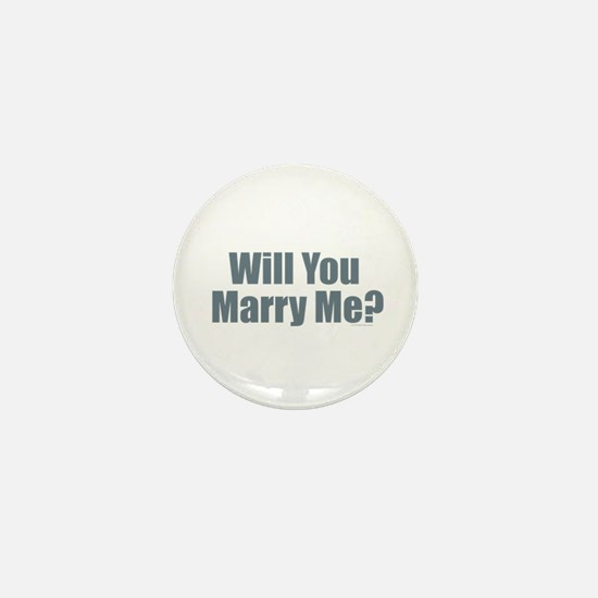 Will You Marry Me Mini Button