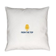 From the Top Logo Everyday Pillow