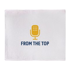 From the Top Logo Throw Blanket