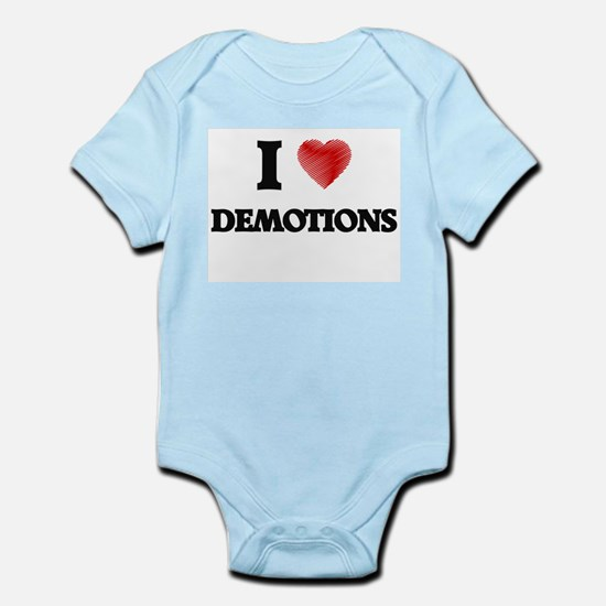 I love Demotions Body Suit