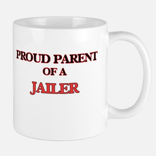 Proud Parent of a Jailer Mugs