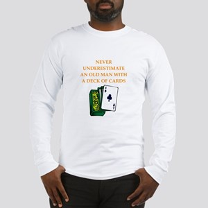 old man Long Sleeve T-Shirt