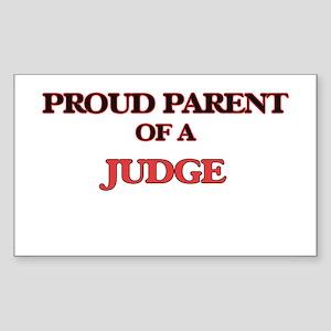 Proud Parent of a Judge Sticker