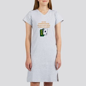 a funny joke Women's Nightshirt