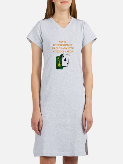 a funny joke Women's Nightshirt