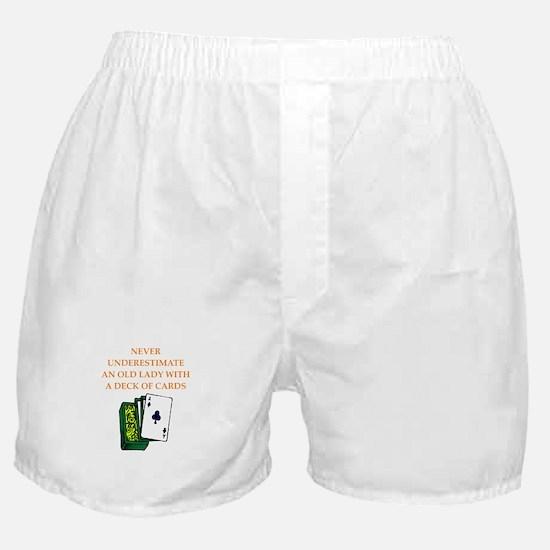 a funny joke Boxer Shorts