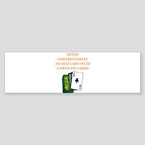 a funny joke Bumper Sticker