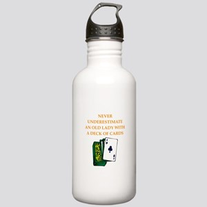 a funny joke Water Bottle