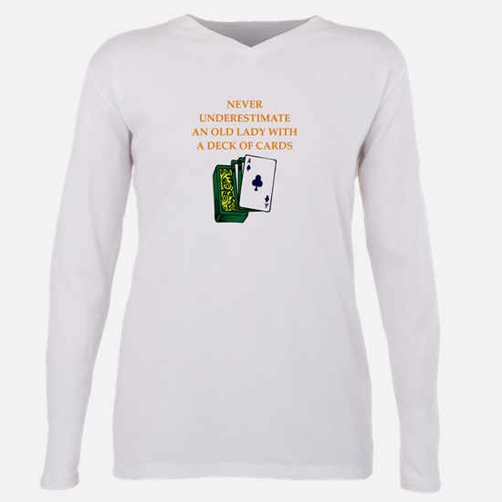 a funny joke Plus Size Long Sleeve Tee