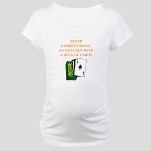 a funny joke Maternity T-Shirt