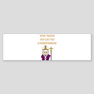 confession Bumper Sticker