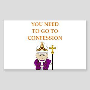 confession Sticker