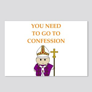 confession Postcards (Package of 8)