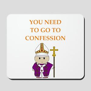 confession Mousepad