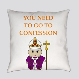 confession Everyday Pillow