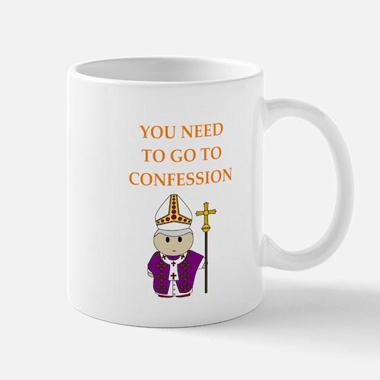 confession Mugs