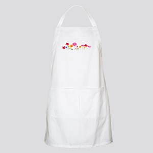 wild meadow flowers Apron
