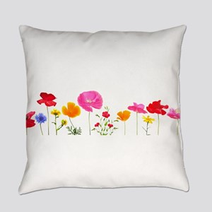 wild meadow flowers Everyday Pillow