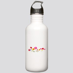 wild meadow flowers Stainless Water Bottle 1.0L