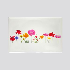 wild meadow flowers Magnets