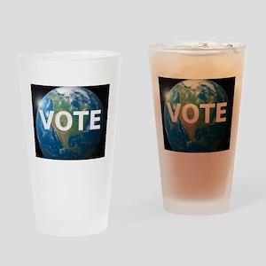 EARTHVOTE Drinking Glass