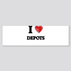 I love Depots Bumper Sticker