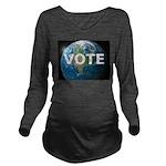 EARTHVOTE Long Sleeve Maternity T-Shirt