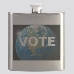 EARTHVOTE Flask